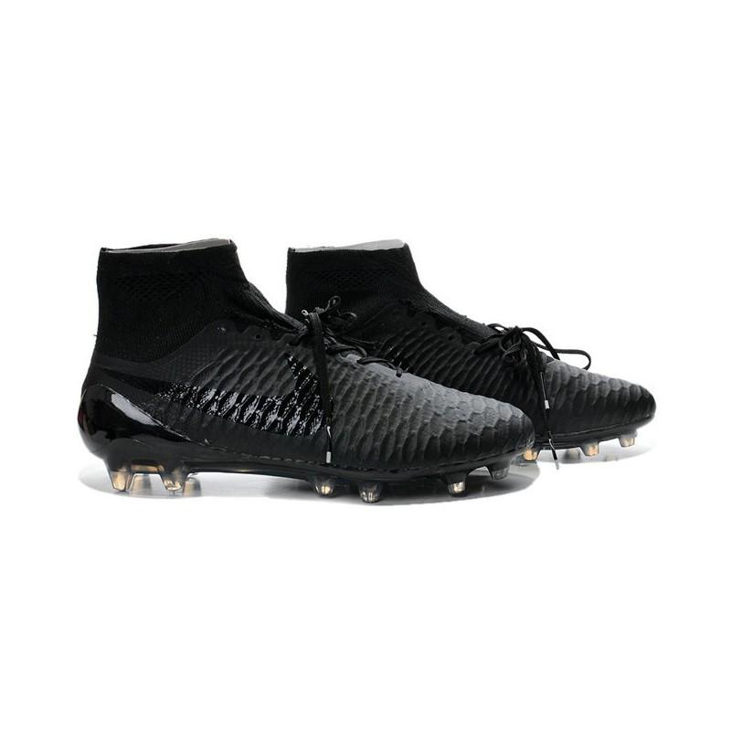 2014 chaussure de football nike magista obra fg tout noir. Black Bedroom Furniture Sets. Home Design Ideas