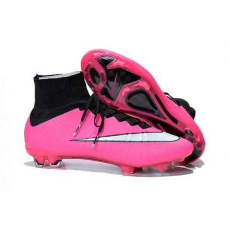 chaussures de foot nike rose