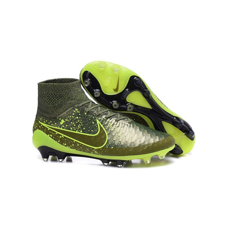 2015 chaussure de football nike magista obra fg power clash vert noir. Black Bedroom Furniture Sets. Home Design Ideas