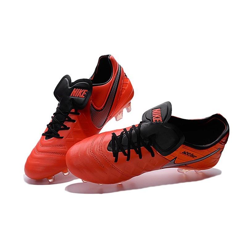 chaussures nike tiempo legend 6 fg pas cher orange noir gris. Black Bedroom Furniture Sets. Home Design Ideas