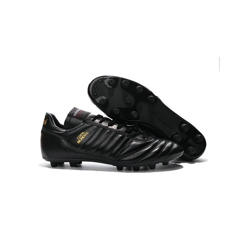 nouvelles 2016 chaussure adidas copa mundial fg noir or. Black Bedroom Furniture Sets. Home Design Ideas