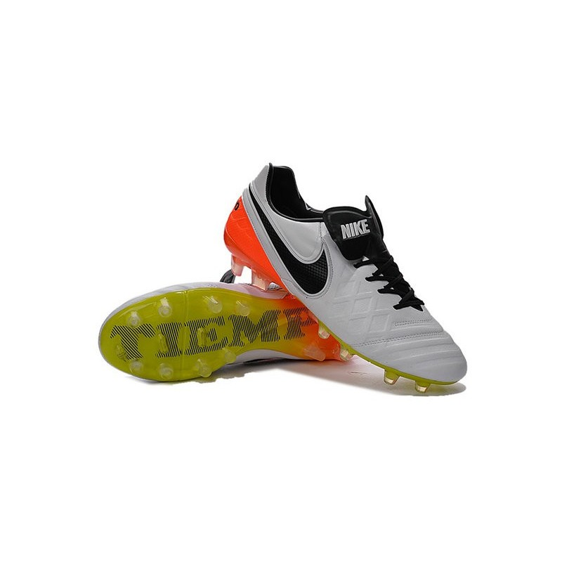 Chaussures nike tiempo legend 6 fg pas cher blanc noir orange total volt - Desherbant total pas cher ...