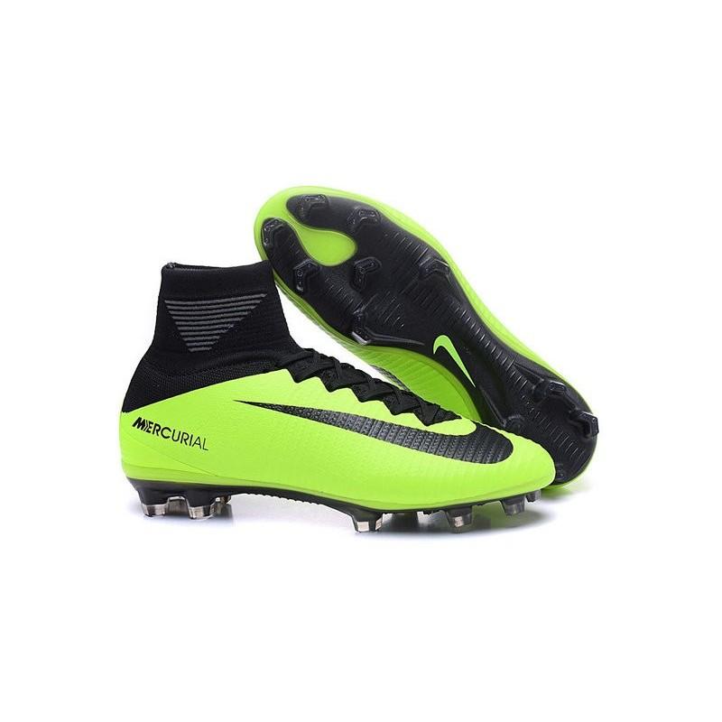 dc269af536ea 2016 Crampons Foot - Nike Mercurial Superfly 5 FG Noir Vert
