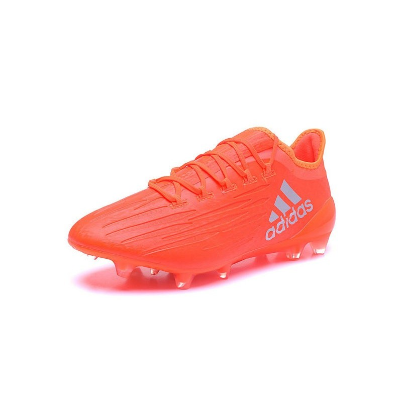 innovative design 70bdc b9008 ... nouvelles chaussures de football adidas x 161 agfg orange argent