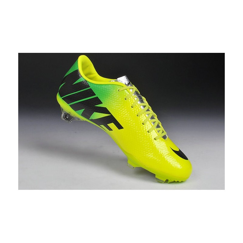 2014 hommes chaussure de foot nike mercurial vapor 9 fg jaune vert noir. Black Bedroom Furniture Sets. Home Design Ideas