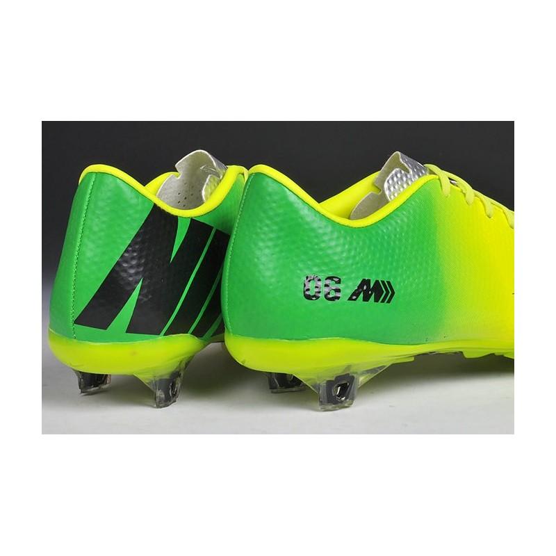 detailed look 7ae12 c6f34 ... hommes chaussure de foot nike mercurial vapor 9 fg jaune vert noir