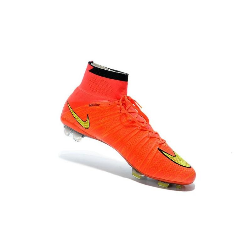 Nike Orange Et Jaune