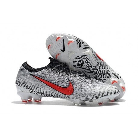 on feet images of autumn shoes premium selection low cost nike mercurial vapor viii fg blanc rouge b322a 0760b