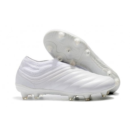 Adidas Copa 19+ FG Chaussures Pour Hommes Blanc