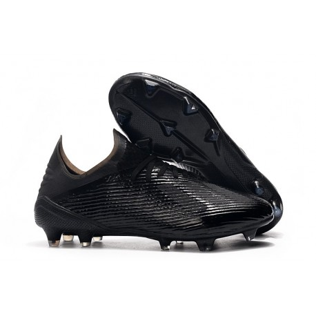 Crampons de Football adidas X 19.1 FG Noir