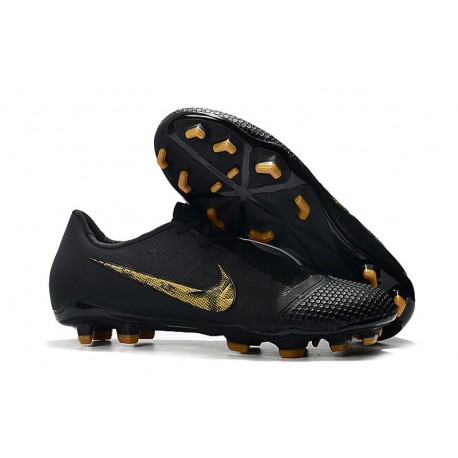 Nike Phantom Venom Elite FG Chaussures - Noir Or