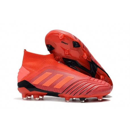 adidas Predator 19+ FG Nouvel Chaussure Rouge