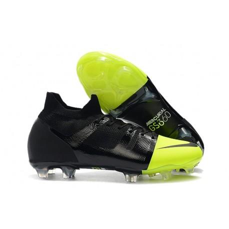 Crampons Nike Mercurial GreenSpeed GS 360 - Noir Vert