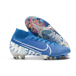 Chaussures Nike Mercurial Superfly VII Elite FG New Lights Bleu