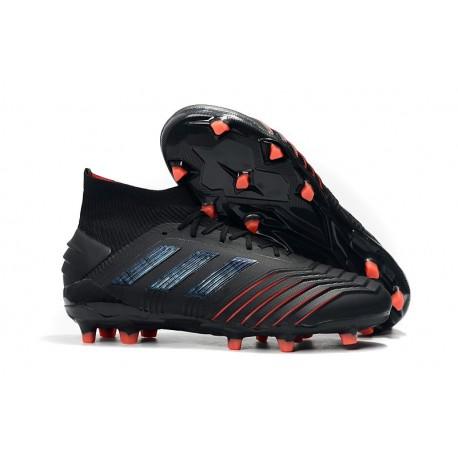 Crampons de Football Adidas Predator 19.1 FG Archetic Noir Rouge