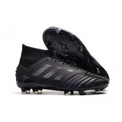 Crampons de Football Adidas Predator 19.1 FG Noir