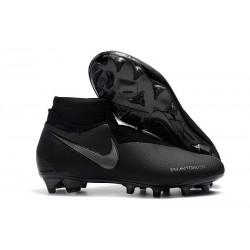 Nike Phantom Vision Elite DF FG - Chaussures de Football Tout Noir