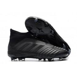Chaussures adidas - Crampons Foot Adidas Predator 18+ FG Tout Noir