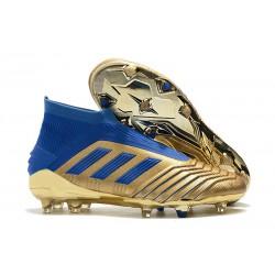 adidas Predator 19+ FG Chaussure Neuf Oro Bleu