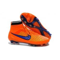 Nouvelle Crampons Nike Magista Obra FG Hommes Orange Violet