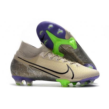 Chaussures Nike Mercurial Superfly VII Elite FG Desert Sand