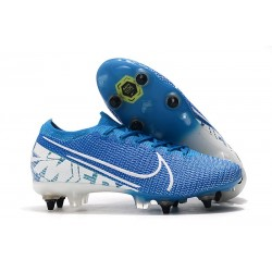 Nike Mercurial Vapor XIII Elite SG-PRO Anti-Clog New Lights Bleu Blanc
