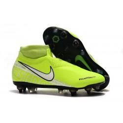 Nike Phantom Vsn Elite Df Sg-Pro Ac Volt Blanc