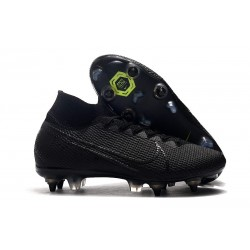 Nike Mercurial Superfly VII Elite DF SG-Pro Anti Clog Noir