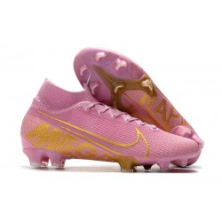 Nike Mercurial Superfly 7 Elite SE FG Crampon -Rose Or