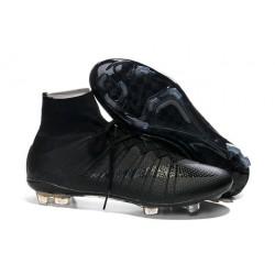 Nouveau Chaussures de Football Nike Mercurial Superfly 4 FG Noir