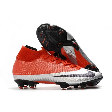 Nike Mercurial Superfly VII Elite DF FG -Future DNA Rouge Argent