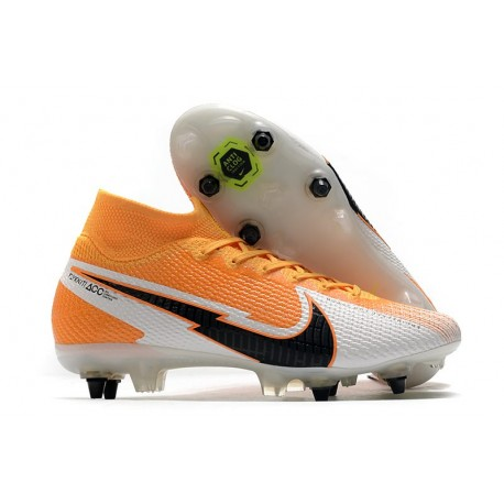 Nike Mercurial Superfly 7 Elite SG-Pro AC - Orange Laser Noir Blanc