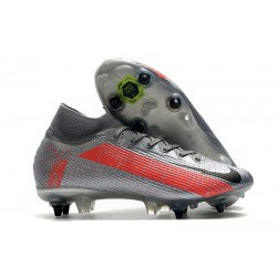 Nike Mercurial Superfly 7 Elite SG-Pro AC Neighbourhood - Gris Noir