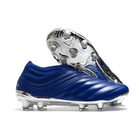 adidas Chaussure de Foot Copa 20+ FG - Bleu Royal Argent