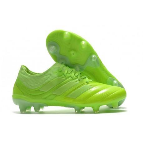 Crampons Nouvel adidas Copa 20.1 FG Vert