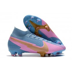 Nike Mercurial Superfly 7 Elite FG ACC Bleu Rose