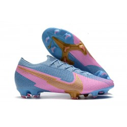 Nike Chaussure Mercurial Vapor 13 Elite FG - Bleu Rose Or