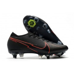 Nike Mercurial Vapor 13 Elite SG AC Noir Rouge