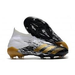 Chaussure Nouvel adidas Predator Mutator 20.1 FG Blanc Or Noir