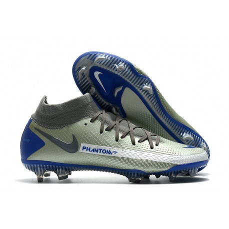 Nike Phantom Generative Texture GT Elite DF FG Argent Bleu
