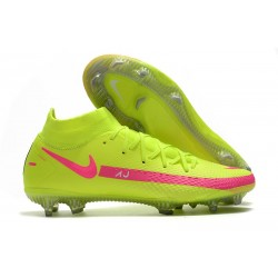 Nike Phantom Generative Texture GT Elite DF FG Vert Rose