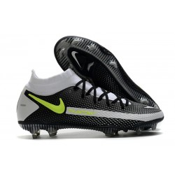 Nike Phantom Generative Texture GT Elite DF FG Noir Gris Vert