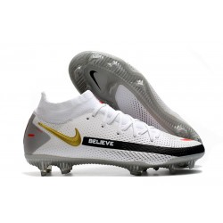 Nike Phantom Generative Texture GT Elite DF FG Blanc Noir Rouge Or