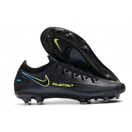 Nike Crampons Nouvelle Phantom GT Elite FG Noir Vert