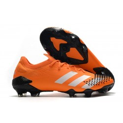 adidas Predator Mutator 20.1 Low Cut FG Orange Blanc