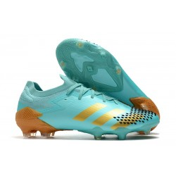 adidas Predator Mutator 20.1 Low Cut FG Bleu Or