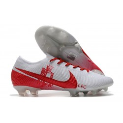 Crampon Nike Mercurial Vapor XIII Elite FG LFC Blanc Rouge