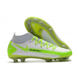 Nike Phantom Generative Texture GT Elite DF FG Blanc Vert