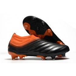 adidas Chaussure de Foot Copa 20+ FG - Corail Noir Rouge Goire