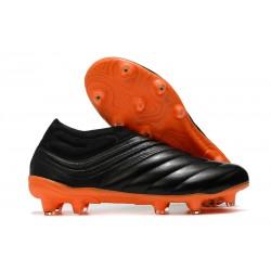 adidas Chaussure de Foot Copa 20+ FG - Noir Orange